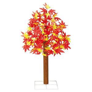 秋もみじ装飾 もみじ立木スタンド 70cm スチールスタンド付 event-ya