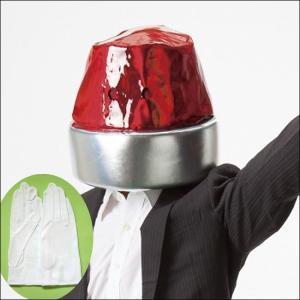 かぶりもの 映画泥棒パトランプマンマスク(おまけの白手袋つき)|event-ya