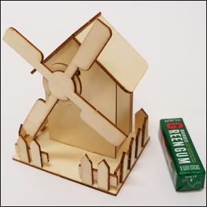 オルゴールの木製おうち工作キット / 手作り 色塗り お絵かき|event-ya