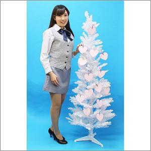 バレンタイン願いごとカード用ホワイトツリー 150cm|event-ya