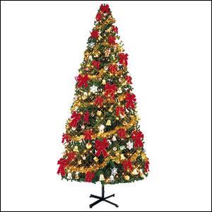 クリスマスツリーセット 450cm オーナメント付・100球ライト×3本付 / 装飾 ディスプレイ 飾り|event-ya