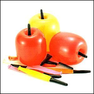 りんご型風船(300ヶ) / バルーン  [動画有]|event-ya