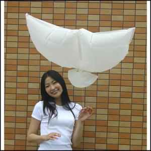 エコ和紙風船 ハト(10枚)|event-ya