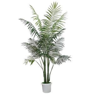 人工樹木 パームツリー H180cm 鉢付き / 観葉植物 造花 ヤシの木 装飾 飾り ディスプレイ|event-ya