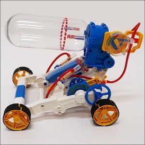 空気の力-エアエンジンカー 工作セット [動画有]|event-ya
