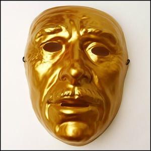 おめん ゴールドマスク 男  / お面・マスク・かぶりもの・仮面|event-ya
