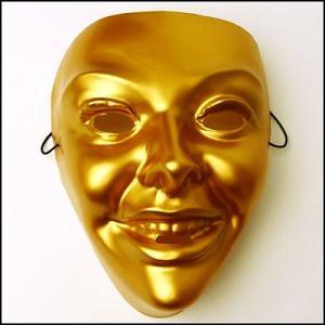 おめん ゴールドマスク 女  / お面・マスク・かぶりもの・仮面|event-ya