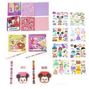 ディズニー文具 色々お買得148個セット/ 景品 プレゼント 粗品|event-ya