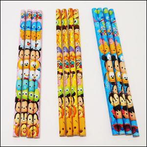 ディズニー文具 ツムツム鉛筆4本入り25袋セット / 文房具 景品 プレゼント 粗品|event-ya