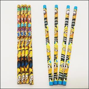 ミニオンズ鉛筆4本入り 25袋セット / 景品 プレゼント