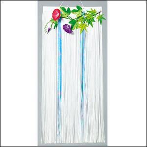 【在庫限り!】夏装飾 涼風朝顔カーテン H90cm / あさがお 飾り付け ディスプレイ|event-ya