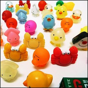 水に浮くすくい用おもちゃ ぷかぷかミニマスコット 50個 event-ya