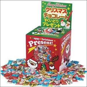 クリスマスチョコレートすくいどり景品セット 360個 (100名様用)|event-ya