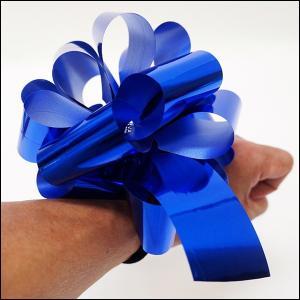 紐を引いて作る楽々キラキラリボン 2個組 腕輪付き [動画有]|event-ya