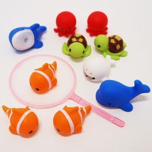 水に浮くすくい用おもちゃ ぷかぷか人気の海の生き物(50個) / 水のおもちゃ すくい用品 縁日 / 動画あり event-ya