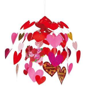 バレンタイン装飾 バレンタインブーケセンター W60cm|event-ya