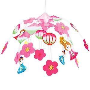 ひな祭り装飾 ひなまつりひなかざりセンター W70cm / 雛祭り 飾り|event-ya