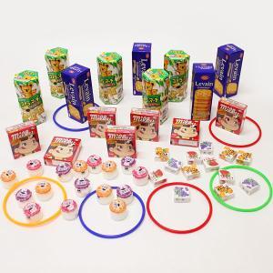 【特価!】有名お菓子 輪なげセット 204個 【お祭り景品・縁日】|event-ya