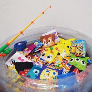 ミニオンズ+ディズニーのお菓子入巾着袋つりイベント大会 56名様用/動画有|event-ya