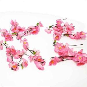 ひな祭り装飾 大桃ガーランド L120cm 4本セット / ディスプレイ 飾り 雛祭り|event-ya