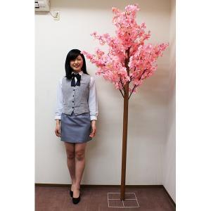 桜装飾 桜立木 H230cm(2分割) / 飾り ディスプレイ 春|event-ya