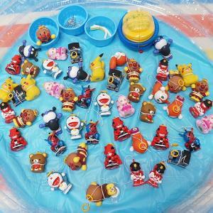 少し大きめキャラクターヨーヨー人形釣り大会 ソフトビニール人形50個/釣り用品 すくい用品 お祭り用品/ 動画有 event-ya