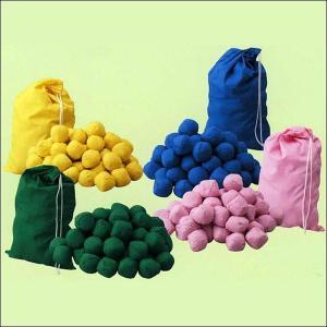 玉入れ用玉(オガクズ入り) カラー 50球 袋入り event-ya