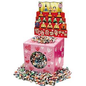 ひなまつりチョコすくいどりBOXタイプ 約750個 / 雛祭り お菓子 景品 粗品 プレゼント イベント|event-ya