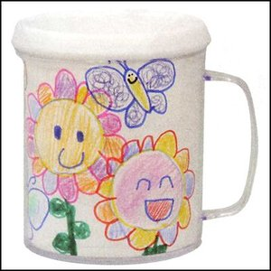 工作イベントセット お絵かきプラスチックマグカップ 1個|event-ya
