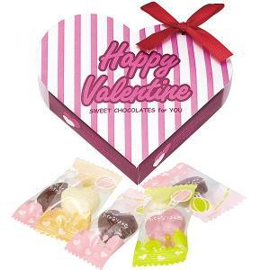バレンタイン義理チョコ ハート(ハートチョコ5粒入り) ×30個|event-ya