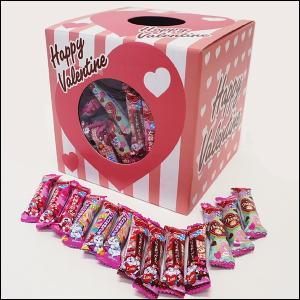 バレンタインチョコレートうまい棒つかみどり 120個/ 動画有|event-ya