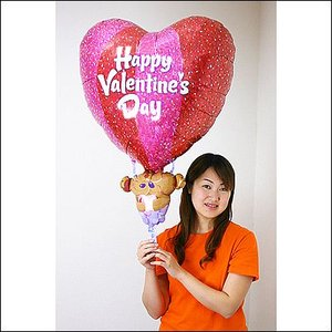 バレンタイン風船 ハート気球 95cm /メール便5枚まで可/|event-ya