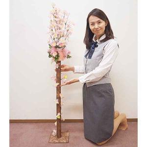 桜装飾 桜アレンジスタンド H130cm / 飾り ディスプレイ 春/動画有|event-ya