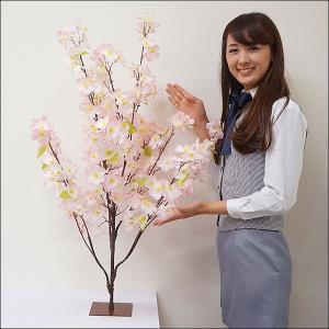 [在庫限り!汚れありのため処分特価品]桜装飾 桜スタンド H100cm / 飾り ディスプレイ 春|event-ya
