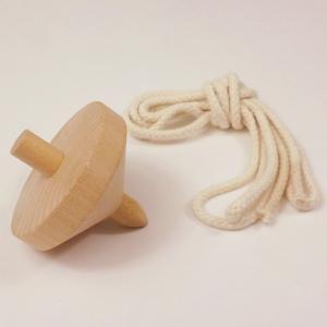 木製おもちゃ 色塗りコマ(1個)|event-ya