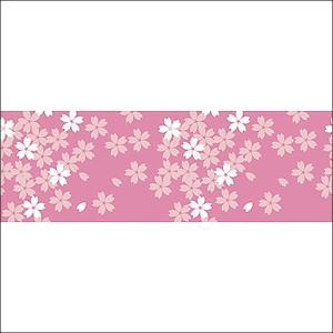 桜装飾 ビニール幕 桜イラスト 60cm×50M巻 / 飾り ディスプレイ 春|event-ya