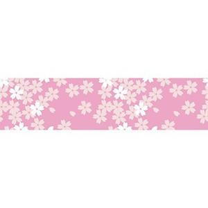 桜装飾 ビニール幕 満開桜 60cm×50M巻 / 飾り ディスプレイ 春|event-ya