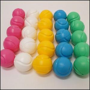 ジャンボガラポン 抽選用カラーボール カプセル 単色10個 / 福引 抽選会 [動画有]|event-ya