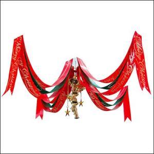 クリスマス装飾 クリスマスベルペナントセンター W180cm|event-ya
