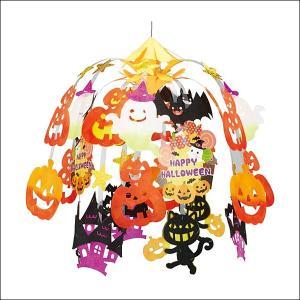 ハロウィン装飾 いたずらキャットハロウィン2段センター W60cm|event-ya