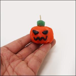 やさしいキャンドル作り ハロウィンパンプキン 小 10人用1セット/ 手作り 工作 制作|event-ya