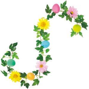 イースター装飾 イースターエッグガーランド L86cm / 復活祭 飾り ディスプレイ|event-ya