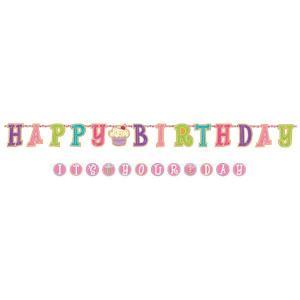 2連バナーセット ハッピーバースデー イッツユアディ 【誕生日・パーティー・ディスプレイ・装飾】|event-ya