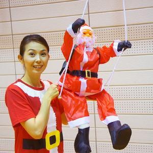 [B級品のため半額] クリスマス装飾 ブランコサンタ 本体90cm / 飾り ディスプレイ デコレーション デコレーション|event-ya