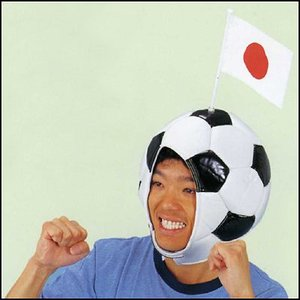 サッカーボールかぶりもの event-ya