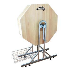 ジャンボガラポン抽選器[抽選機] 木製 H140cm [大型商品160cm以上][代金引換払い不可]|event-ya