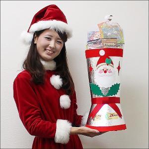 全長60cm ジャンボサンタブーツ お菓子入り ブーツ高45cm / クリスマス プレゼント 景品|event-ya