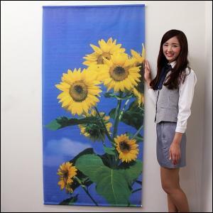夏装飾 タペストリー サンフラワー / ひまわり 向日葵 ヒマワリ 飾り ディスプレイ|event-ya