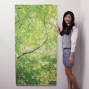 タペストリー 新緑若葉 防炎加工 / 夏 装飾 飾り|event-ya
