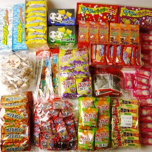 簡単駄菓子屋さん売場14種(552個)/ お菓子 模擬店 お祭り販売品|event-ya